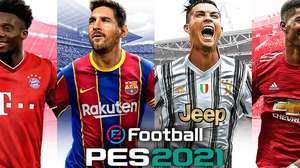 Messi y Cristiano Ronaldo compartirán portada en PES 2021