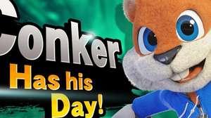 ¡Conker llega a Super Smash Bros.! Pero