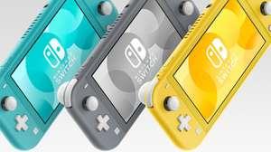Nintendo ha revelado el Nintendo Switch Lite