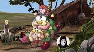 Zangado revive o game-animação The Little Acre