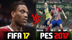 FIFA 17 vs. PES 2017: análisis comparativo detallado