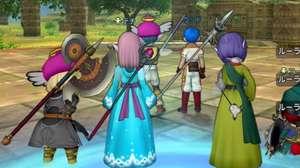 ¡Mira qué lindo Dragon Quest X rodando en el Switch!