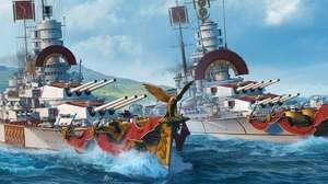 Encouraçados italianos são a novidade de World of Warships
