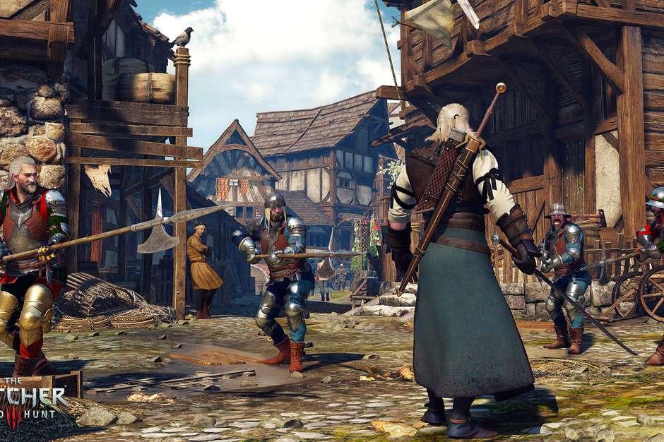 The Witcher 3 Foto: Divulgação