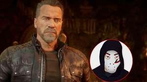 Zangado testa Schwarzenegger como lutador de Mortal Kombat 11