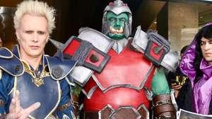 João Gordo e Supla sacudiram fãs de Warcraft na Av. Paulista