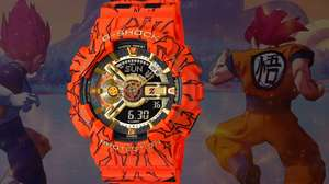 Casio lança relógio da série G-Shock - Dragon Ball Z