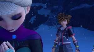 Anna e Elsa de Frozen desembarcam na série Kingdom Hearts