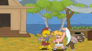 Deuses gregos saem no braço em game retrô Zeus Begins