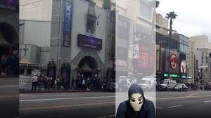Zangado em LA: a Calçada da Fama de Hollywood