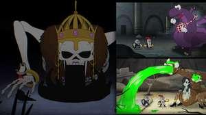 Uma mistura de Cuphead com Dark Souls