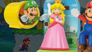 Mario está de volta com sua turma em rede de fastfood