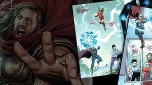 Prévia em quadrinhos de Marvel's Avenger apresenta Thor