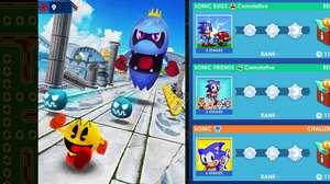 Sonic e Pac-Man se unem em um crossover para mobiles