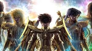 Armaduras divinas raras reaparecem em Cavaleiros do Zodíaco