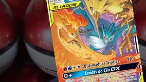 Conheça o 1º trio de Aliados de Pokémon Estampas Ilustradas