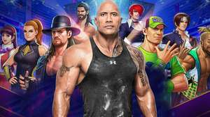 Jogue com The Rock em crossover de WWE com King of Fighters