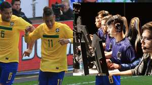 Neymar revela torcida pela Furia no minor americano de CS:GO