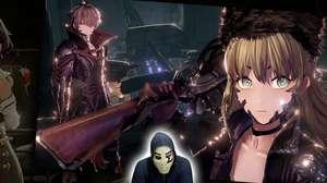 Zangado descortina visual anime e mangá de Code Vein