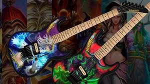 Gibson lança guitarras inspiradas em Hearthstone