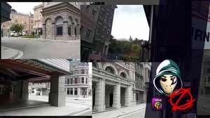Zangado visita cidade cinematográfica da Universal, nos EUA