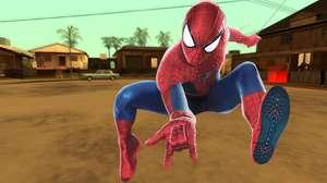 Assista ao Homem-Aranha nos céus de San Andreas, de GTA