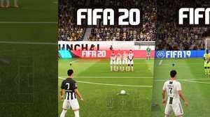 FIFA 19 e FIFA 20: assista à comparação e tire sua conclusão