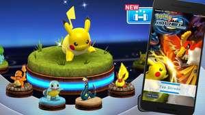 Bônus raros aparecem em Pokémon Duel como presente de Natal