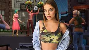 Baby Ariel se empolga por estrelar The Sims 4: Rumo à Fama