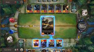 Testando Legends of Runeterra: o deck com cartas Shield