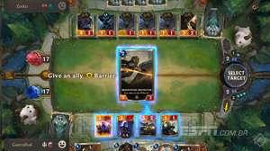 Testando Legends of Runeterra: o deck com cartas Shield