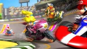 Corrida em realidade virtual com Mario Kart Arcade GP VR