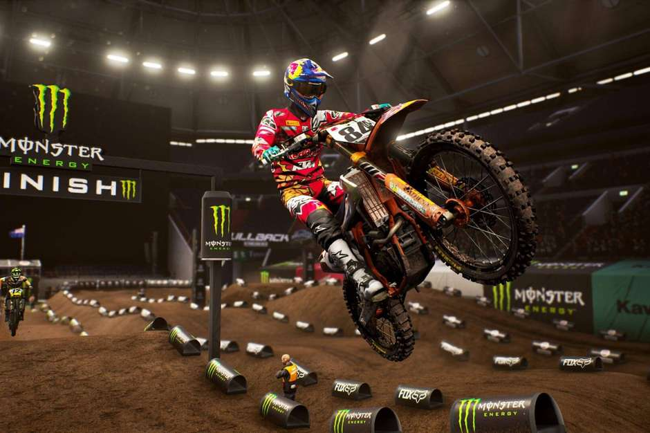 Monster Energy Supercross - The Official Videogame Foto: Divulgação