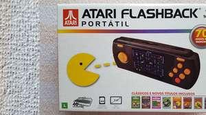 Zangado faz unboxing do Atari Flashback Portátil