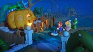 Mario + Rabbids Kingdom Battle e mundos Ubisoft e Nintendo