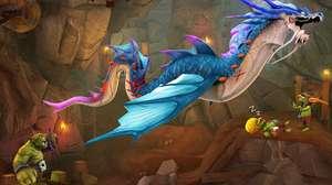 Dragão medieval da Ubisoft chega em Hungry Dragon para mobile