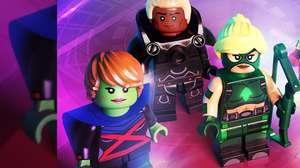 Personagens de Justiça Jovem chegam a LEGO DC Super-Villains