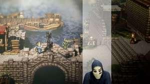 Ecos da E3: Zangado testa RPG por turnos Octopath Traveler