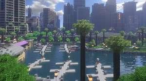Cidade inacreditável está sendo feita há 9 anos em Minecraft