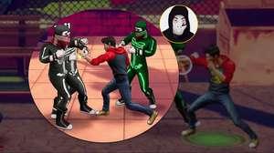 Zangado mostra Cobra Kai: The Karate Kid Saga Continues