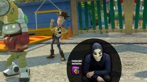 Zangado testa Rush: A Disney Pixar Adventure para o Games4U
