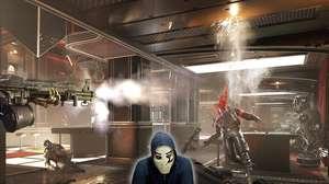 Zangado encara o primeiro boss de Wolfenstein: Youngblood