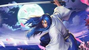 Samurai Shodown faz crossover de lutador com AFK Arena