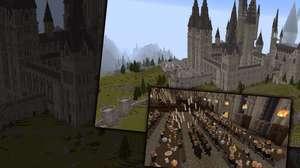 Escola de Hogwarts no Minecraft levou 7 anos pra ser concluída