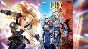 Lux estrela nova série em quadrinhos de League of Legends