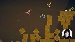 Stick Fight tem espírito de Fliperama, mostra Zangado