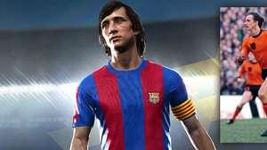 Johan Cruyff é a nova estrela de Pro-Evolution Soccer
