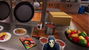 Zangado faz o jantar (literalmente?) com Cooking Simulator