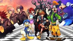 Coletânea reúne 9 jogos da série Kingdom Hearts