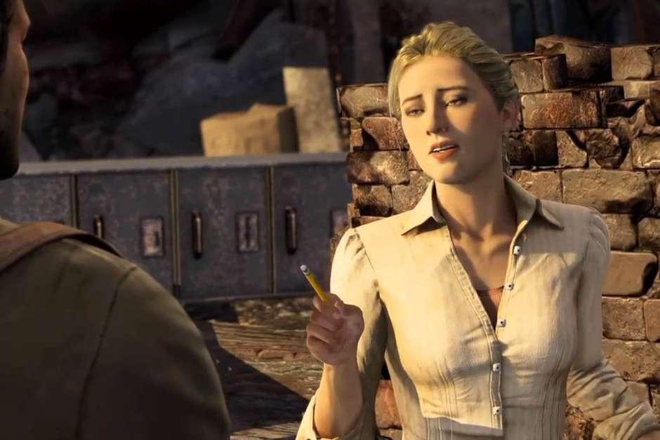 7. Elena (Uncharted): O que seria do Nathan Drake sem a força da Elena Fisher, hein? Foto: Sony / Reprodução